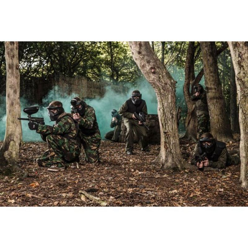 Full Day Paintballing for Four product image