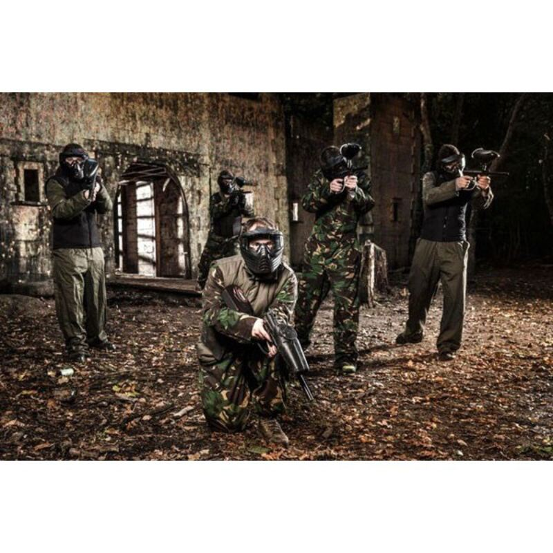 Full Day Paintballing for Eight product image