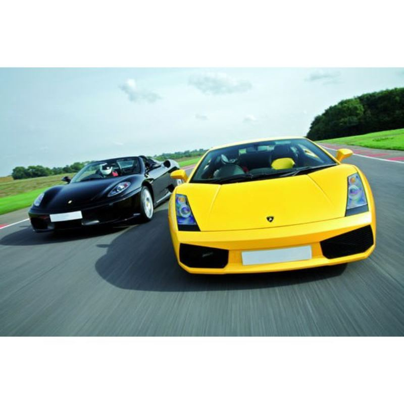 Five Supercar Driving Thrill with Passenger Ride - Weekends product image