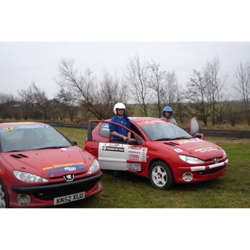 Rally Driving Thrill with Passenger Ride product image