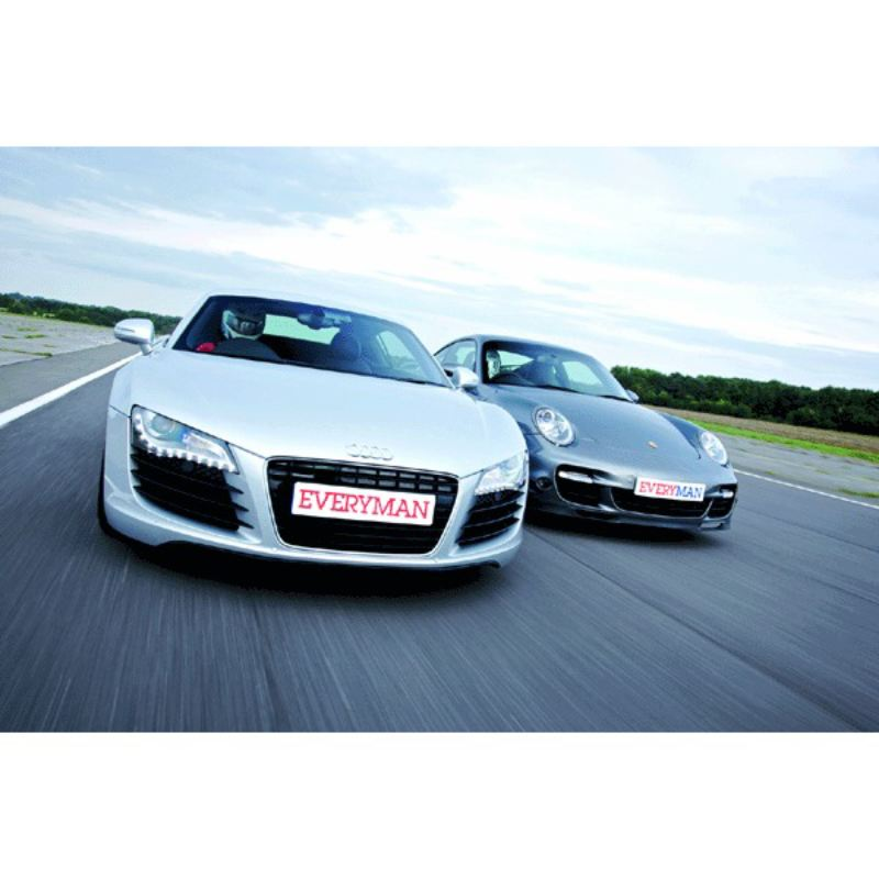 Nissan GTR vs. Lamborghini Gallardo Showdown product image