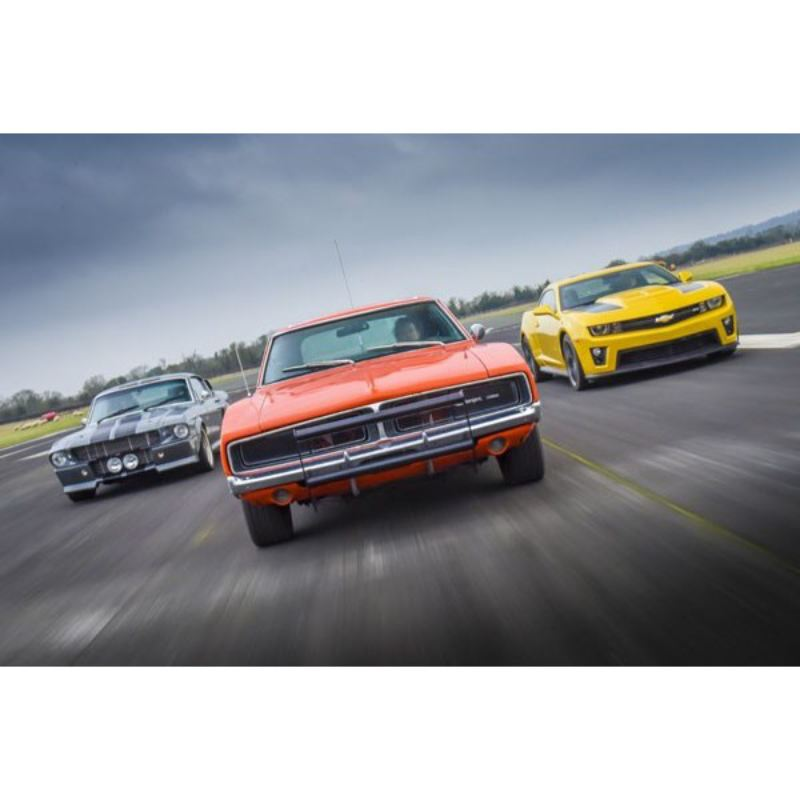 Double Movie Muscle Car Driving Blast product image