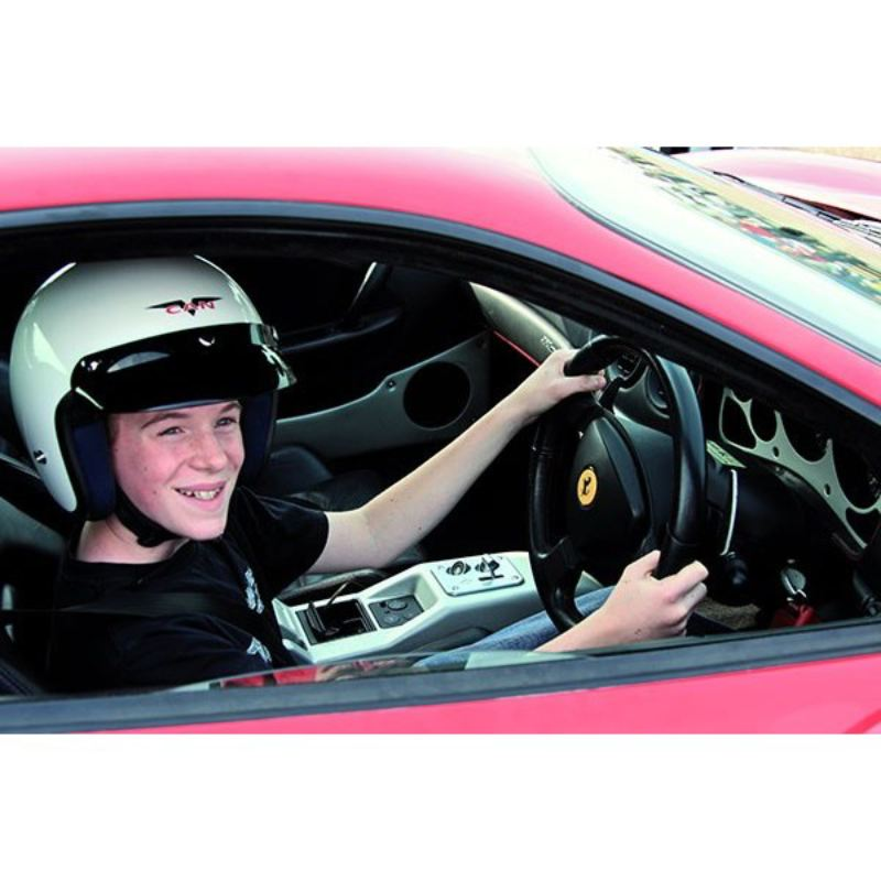Junior Double Supercar Driving Thrill with Passenger Ride and Free Photo product image