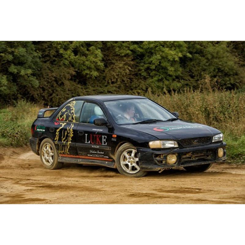 Rally Driving Thrill at Silverstone Rally School product image
