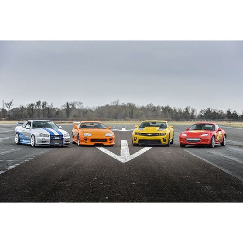 Double Supercar Driving Blast with Free High Speed Passenger Ride - Special Offer product image