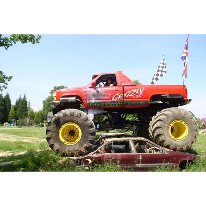 Monster Truck and Rally Kart Experience product image