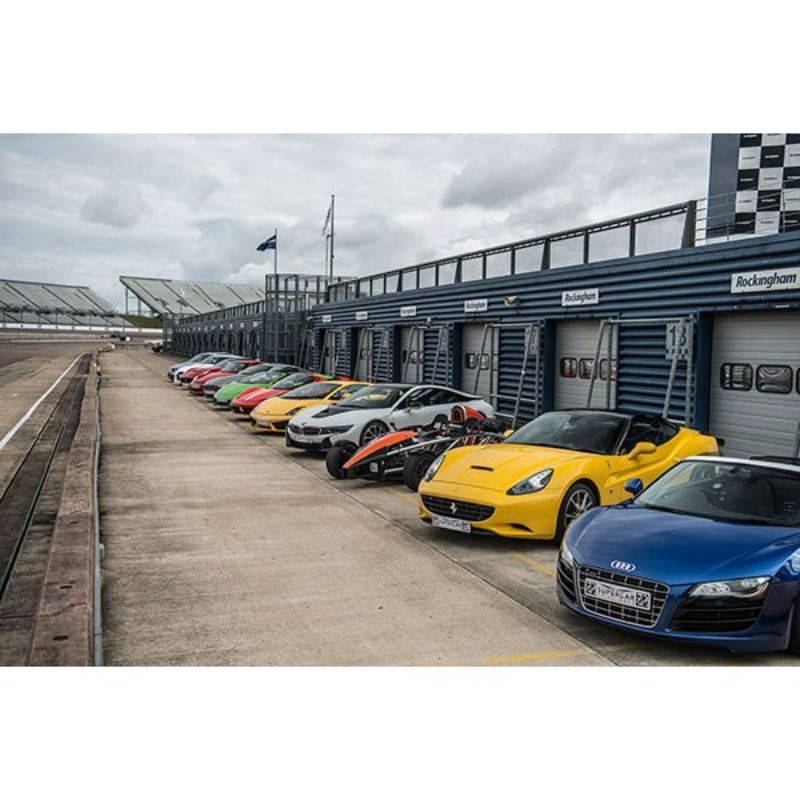Triple Supercar Driving Thrill at Goodwood product image