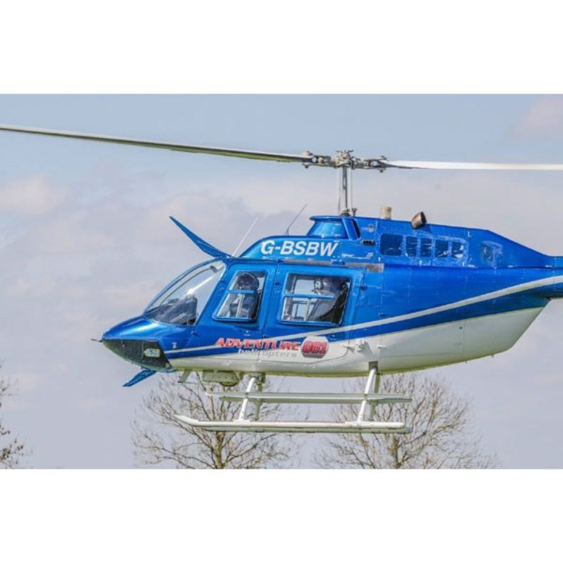 Blue Skies Helicopter Tour with Bubbly for One  product image