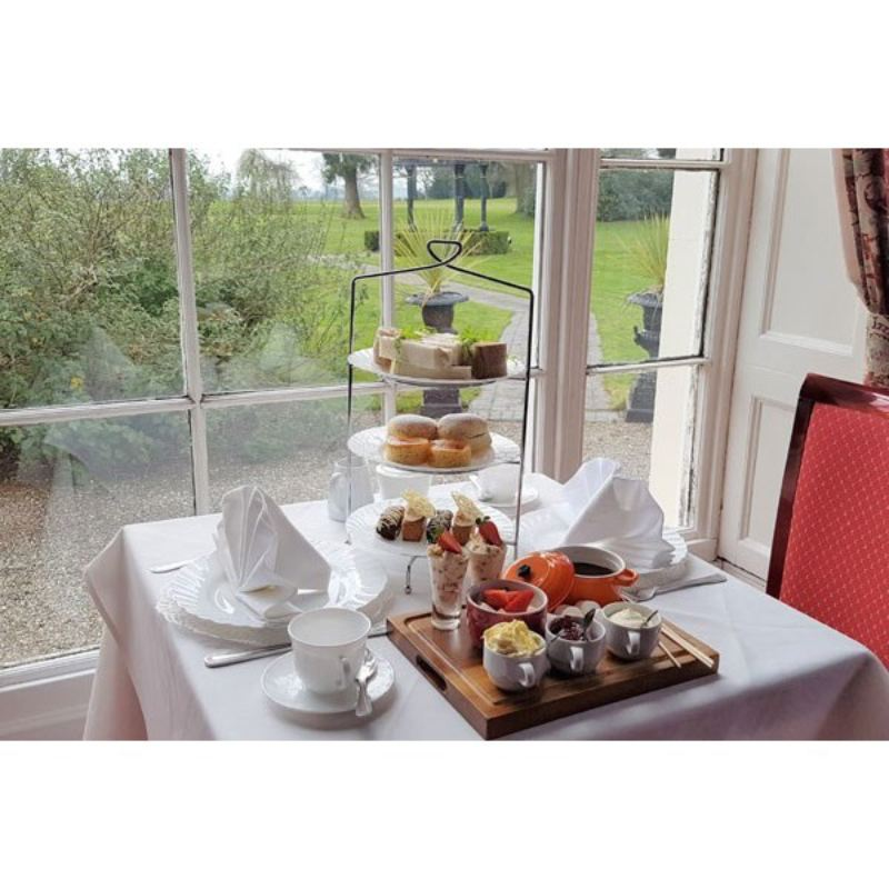 Luxury Spa Day with Afternoon Tea for Two at Haughton Hall Hotel and Leisure Club product image