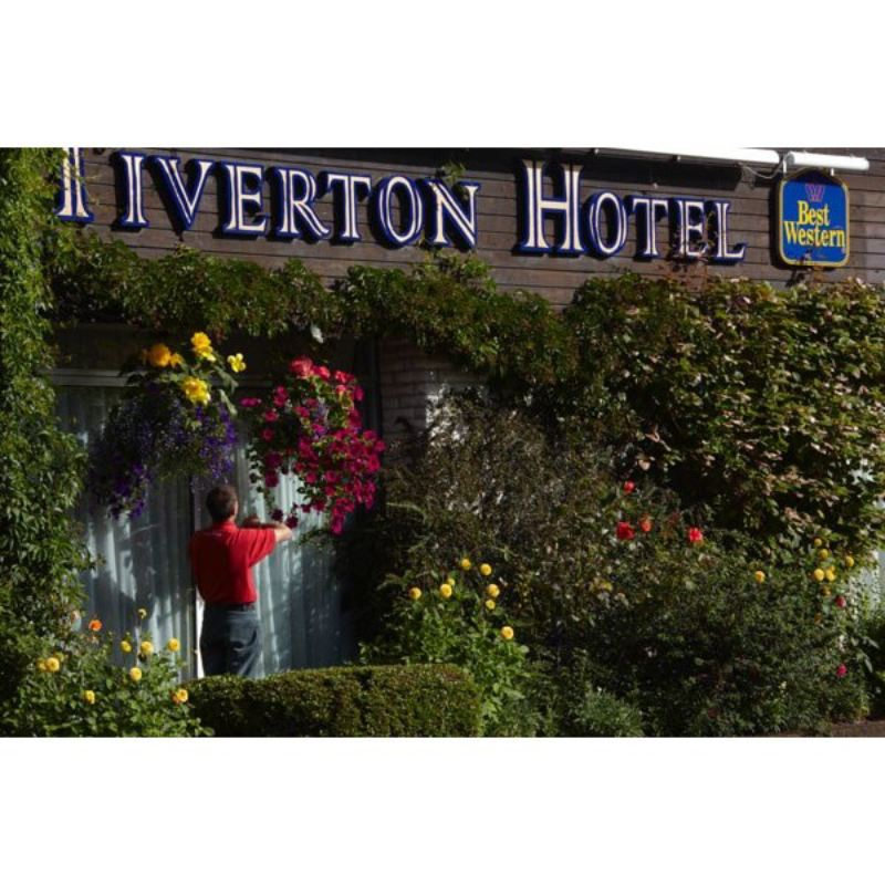 Deluxe Afternoon Tea for Two at Best Western Tiverton Hotel product image