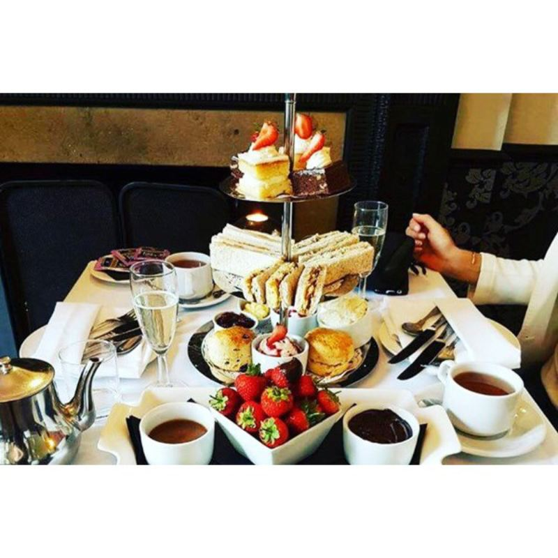 Champagne Afternoon Tea for Two at The Craiglands Hotel product image
