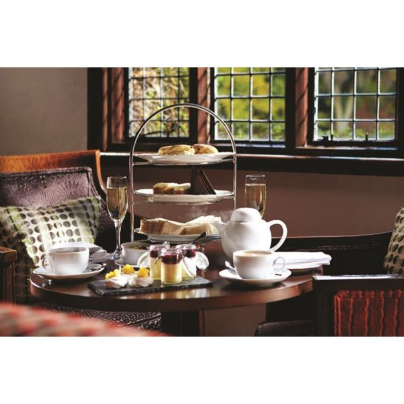 Champagne Afternoon Tea For Two at Langshott Manor Hotel  product image