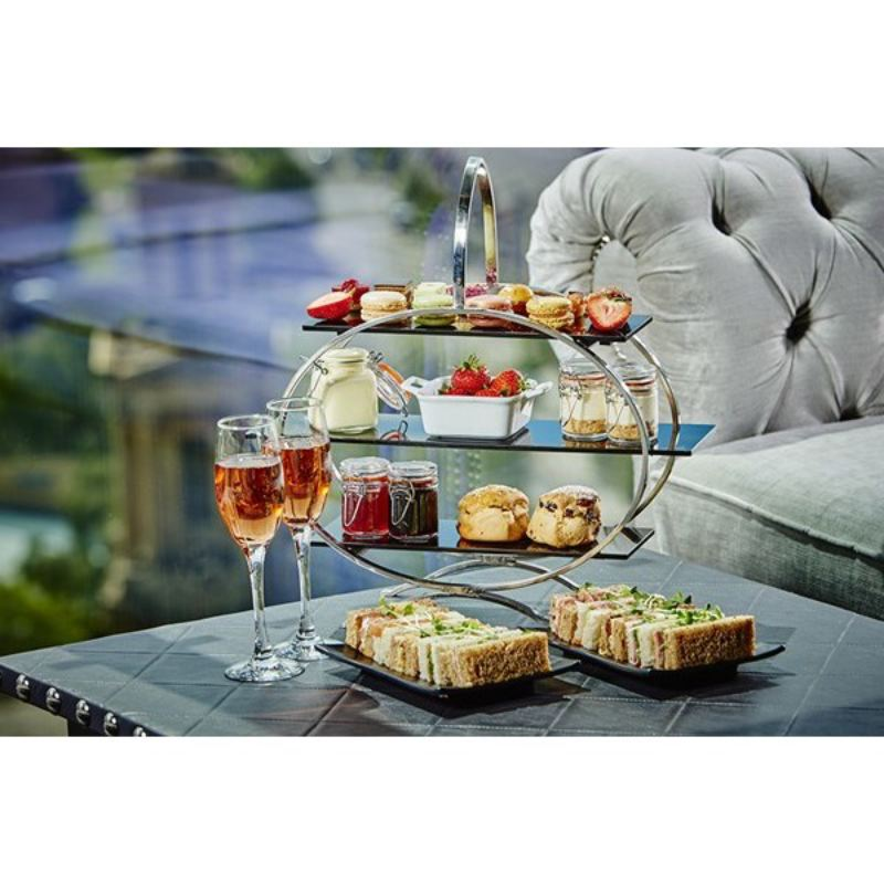 Champagne Afternoon Tea for Two at Marco Pierre White Restaurant, Birmingham product image