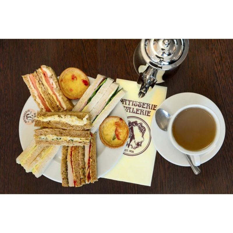 Afternoon Tea for Two at Patisserie Valerie with Cake Gift Voucher product image