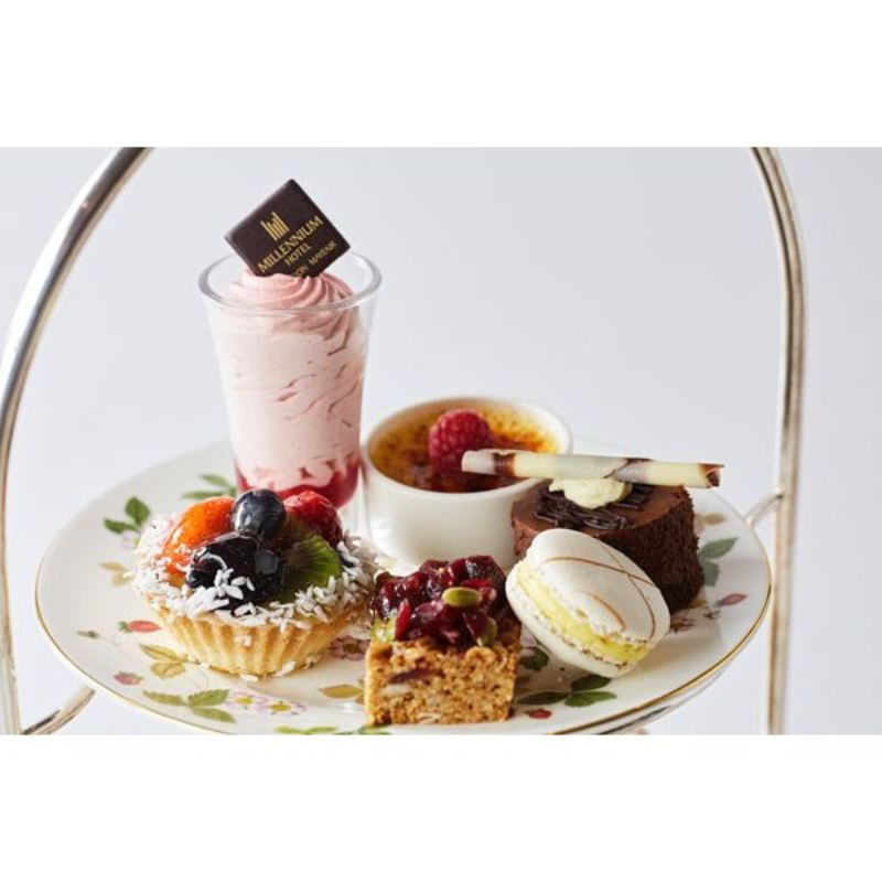 2 for 1 Champagne Afternoon Tea in Avista Restaurant at The Millennium Mayfair product image