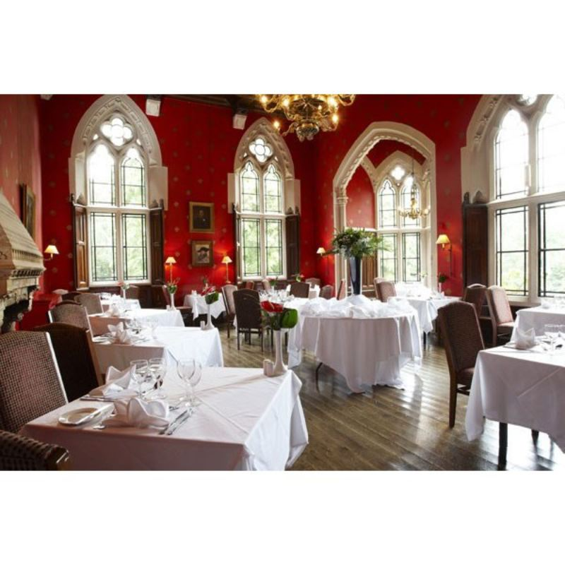 Three Course Meal with Glass of Wine for Two at Brownsover Hall Hotel product image