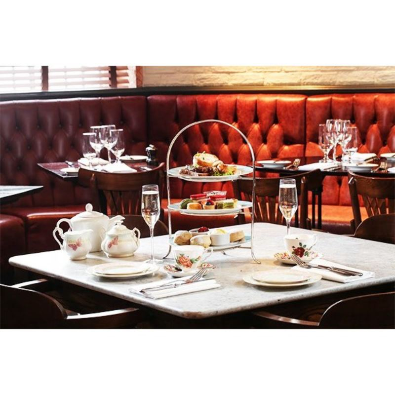 Traditional Champagne Afternoon Tea for Two at Reform Social & Grill product image