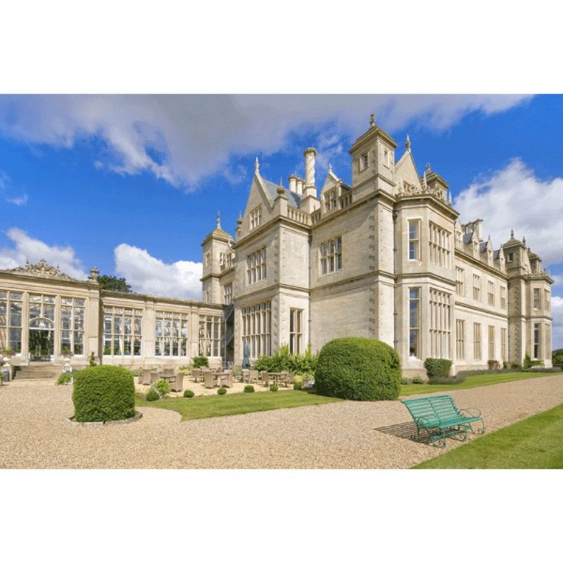 One Night Bed and Breakfast Break for Two at Stoke Rochford Hall product image