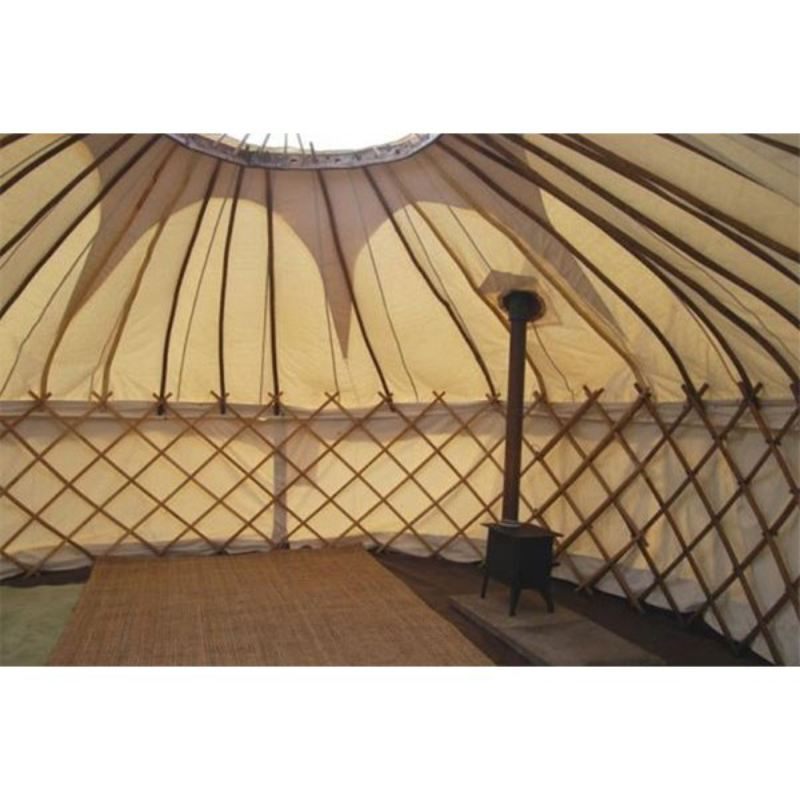 One Night Stay in a Traditional Yurt at Rivendale Caravan Park product image