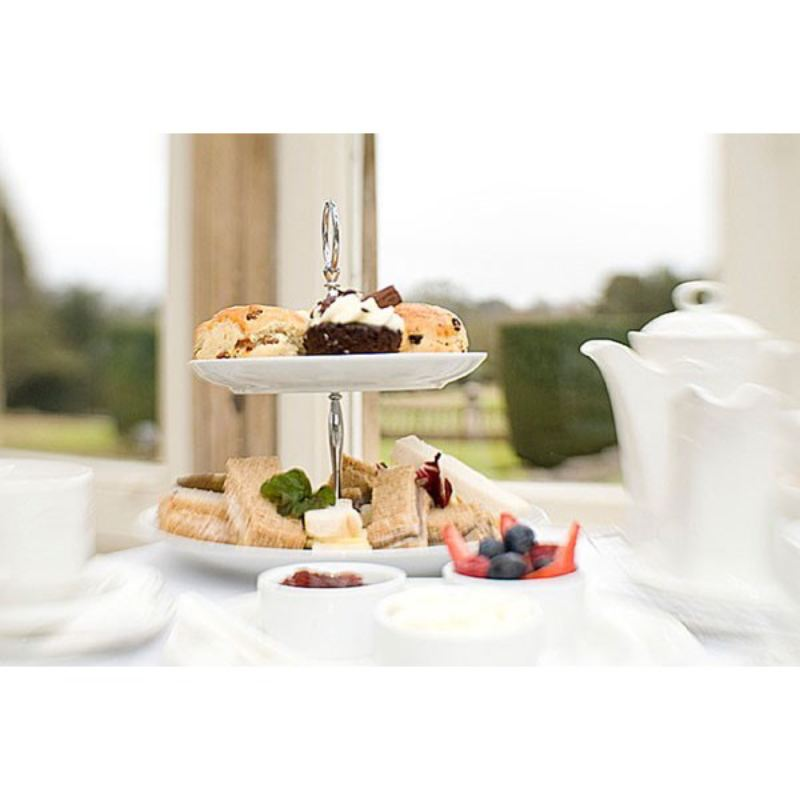 One Night Break with Afternoon Tea for Two at Stoke Rochford Hall  product image