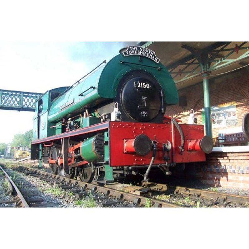 Introductory Steam Train Driving Experience in Yorkshire - One Hour product image
