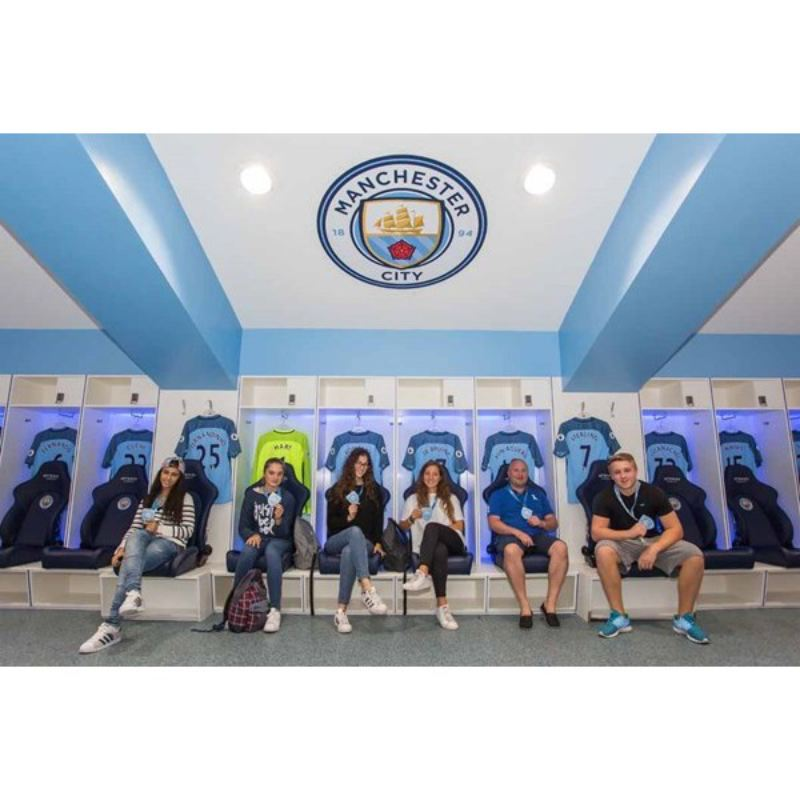 Manchester City Legends Stadium Tour and Lunch for Two product image