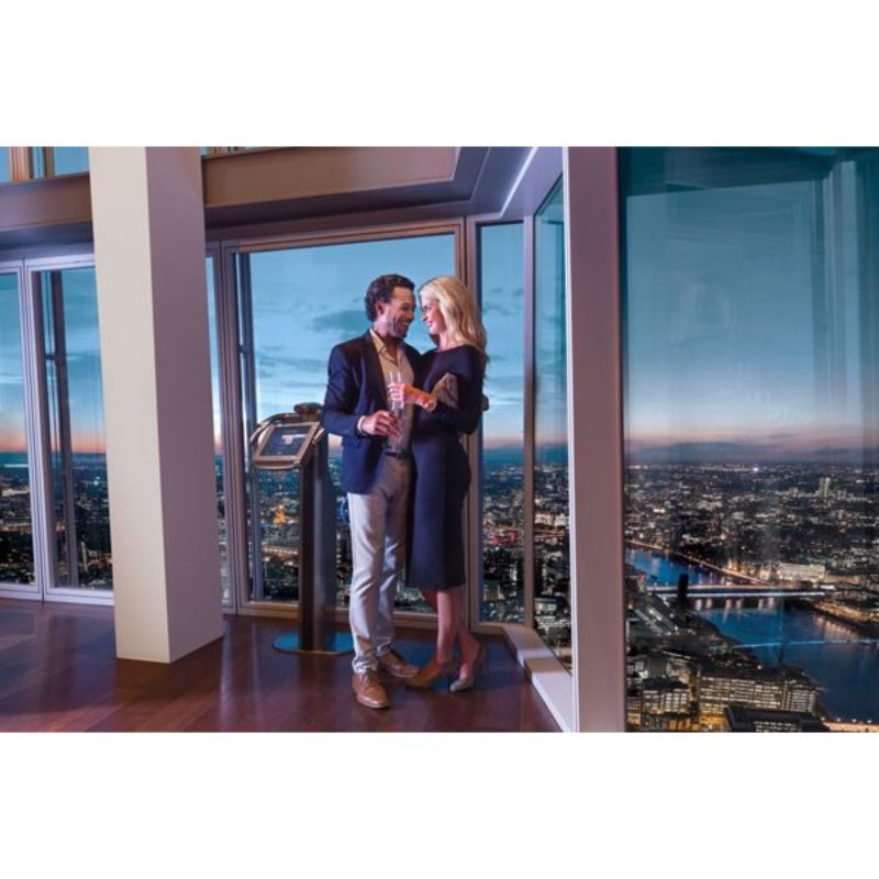 The View from The Shard with Lunch at The Swan at The Globe for Two product image