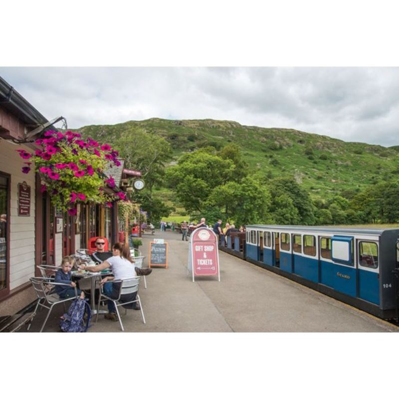 Cream Tea, Steam and Sparkle Experience For Two at Ravenglass Railway product image