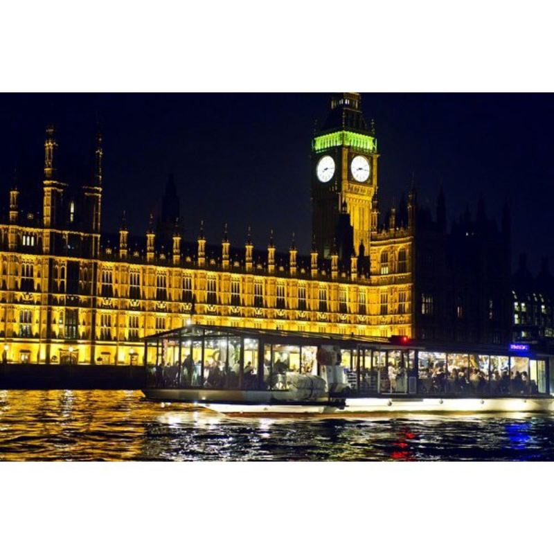 Bateaux Dinner Cruise on the Thames for Two product image