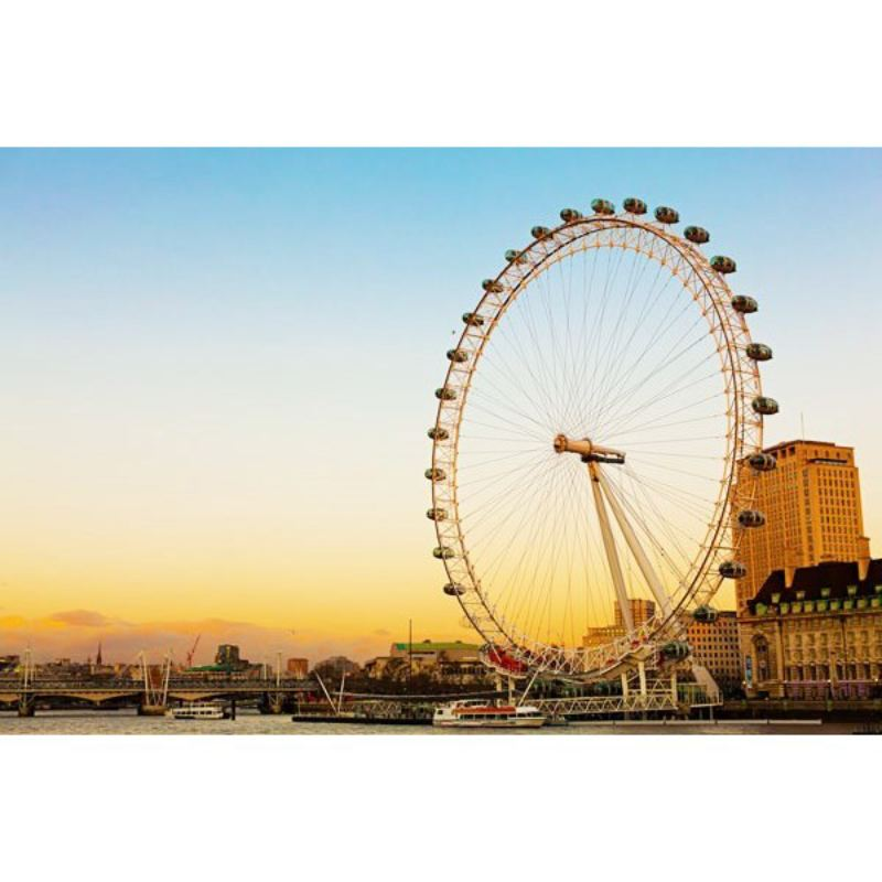 Coca Cola London Eye Tickets and 3 Course Meal with Prosecco at Jamie's Italian product image
