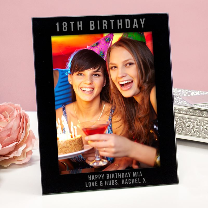 Engraved 18th Birthday Photo Frame product image