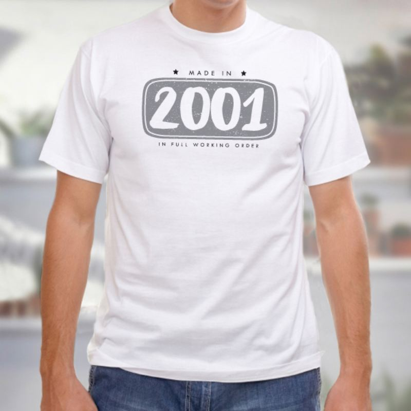 6b3990f9 18th Birthday Personalised Mens T-shirt - The Personalised Gift Shop