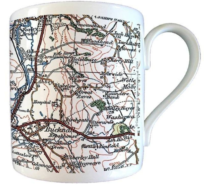 1919 - 1926 Popular Edition Map Mug product image