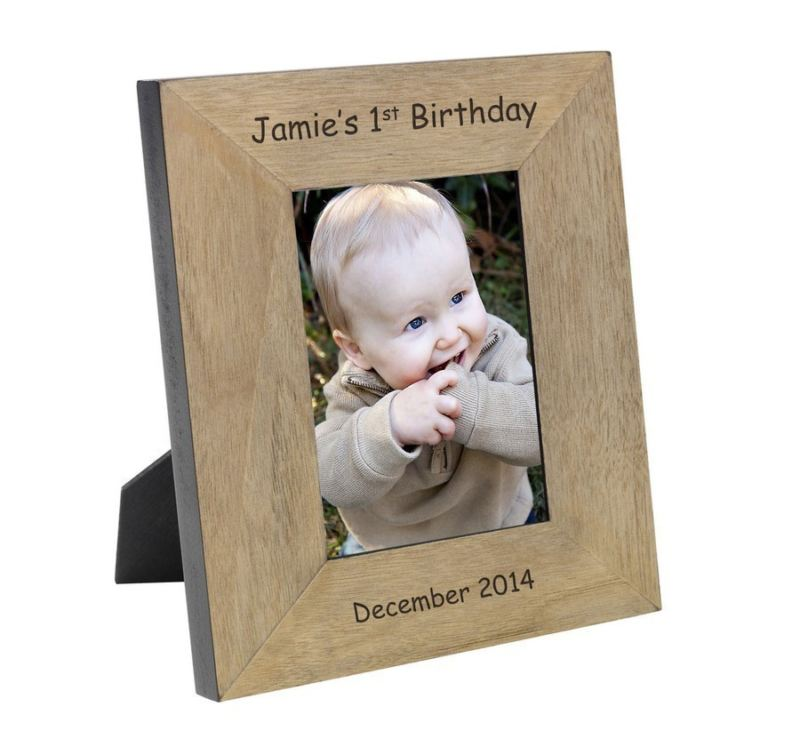 1st Birthday Wood Frame 6 x 4 product image
