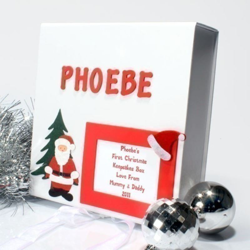 1st Christmas Personalised Memory Box product image