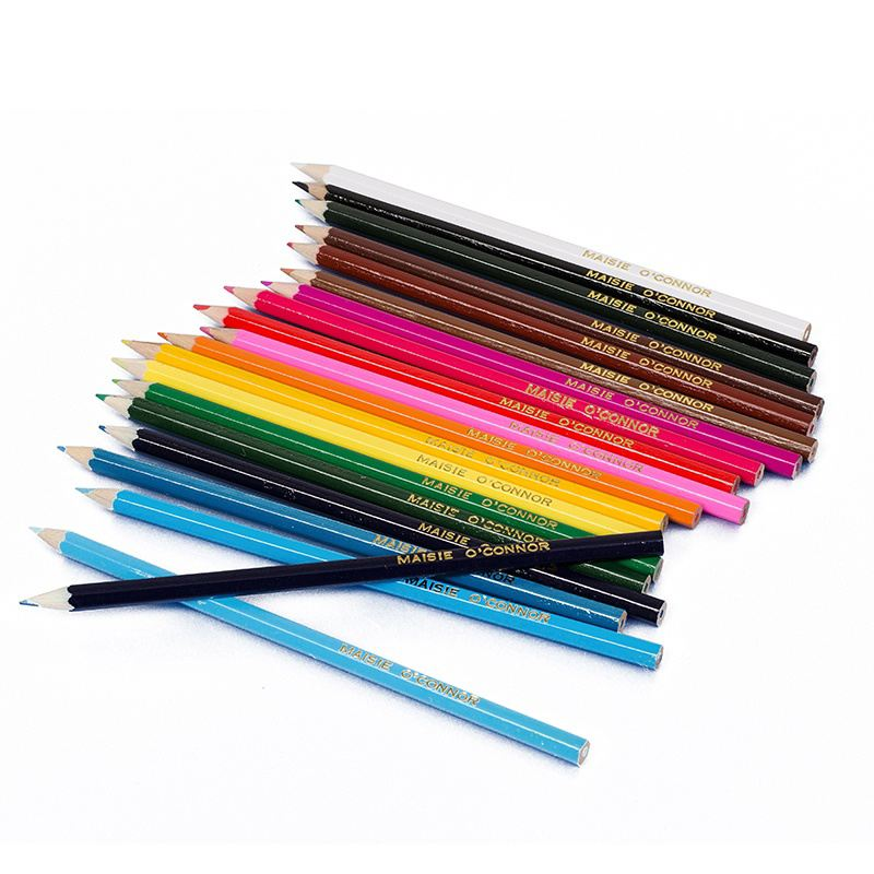 20 Personalised Colouring Pencils product image