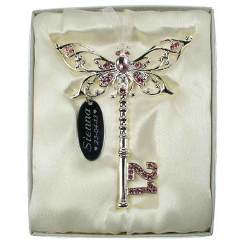 21st Birthday Butterfly Key - Pink product image