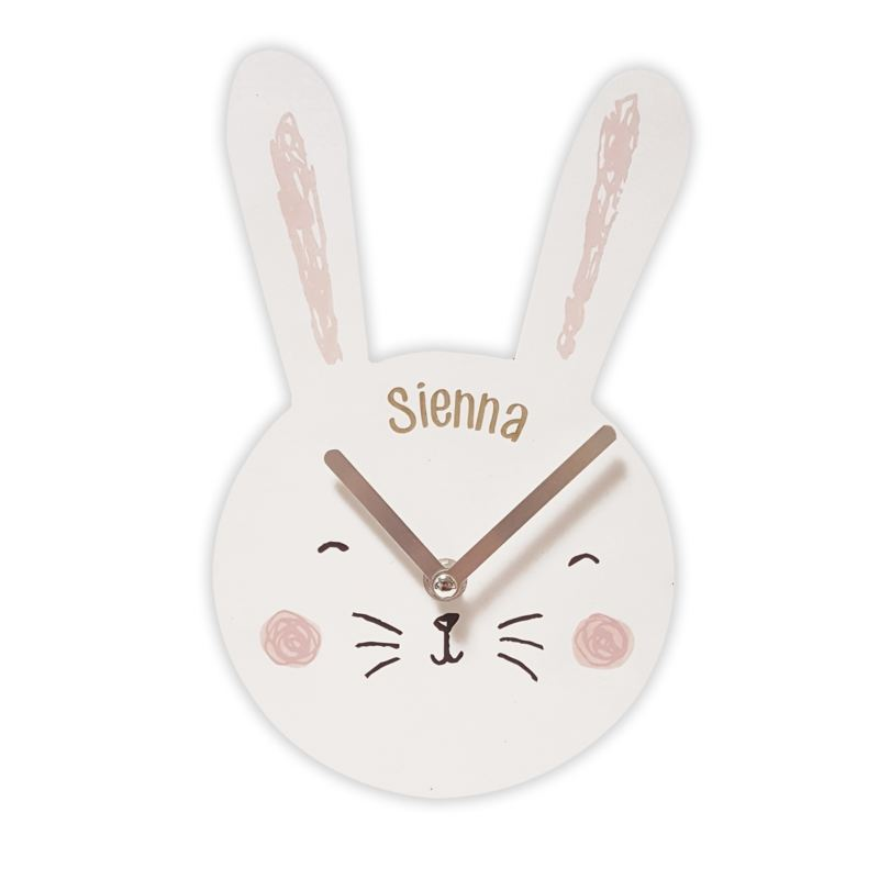 Personalised Bunny Clock product image
