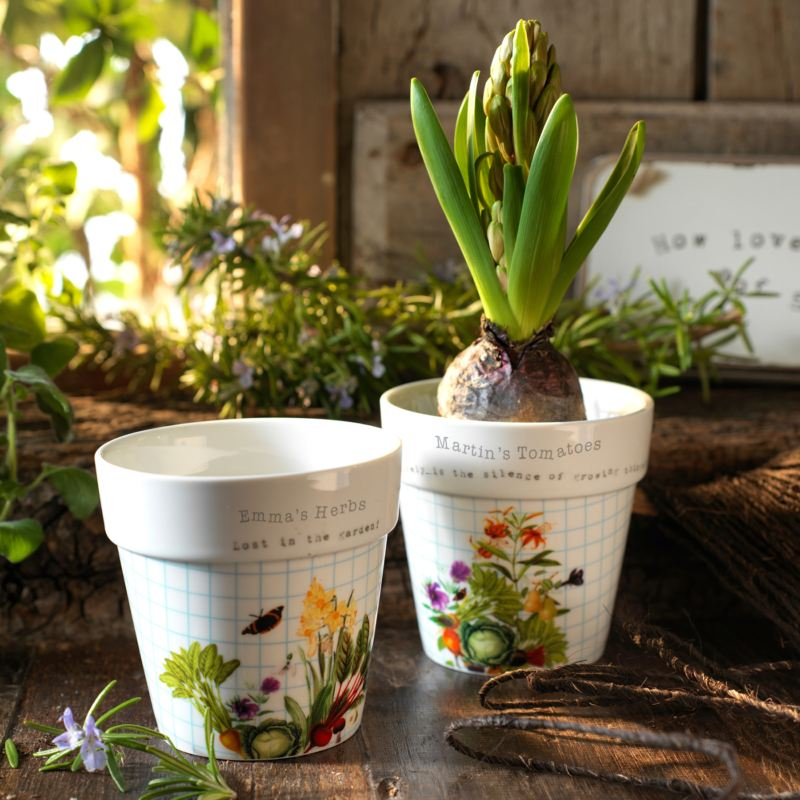 Royal Horticultural Society Personalised Plant Pot Set product image