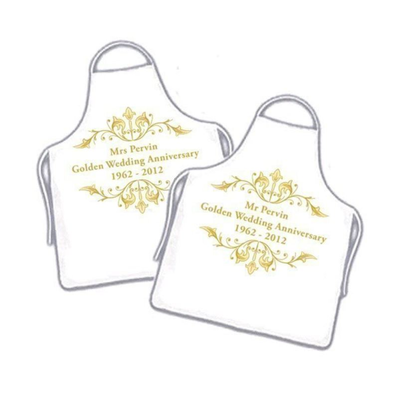 50th Wedding Anniversary Aprons product image