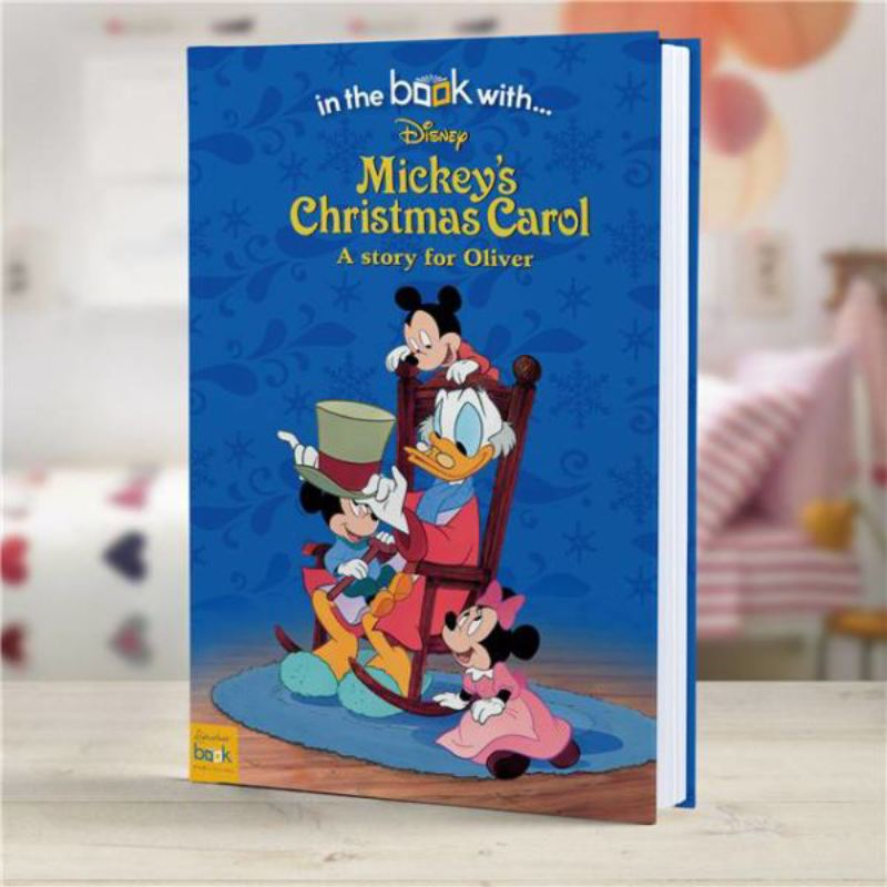 Mickeys Christmas Carol Personalised Disney Story Book product image