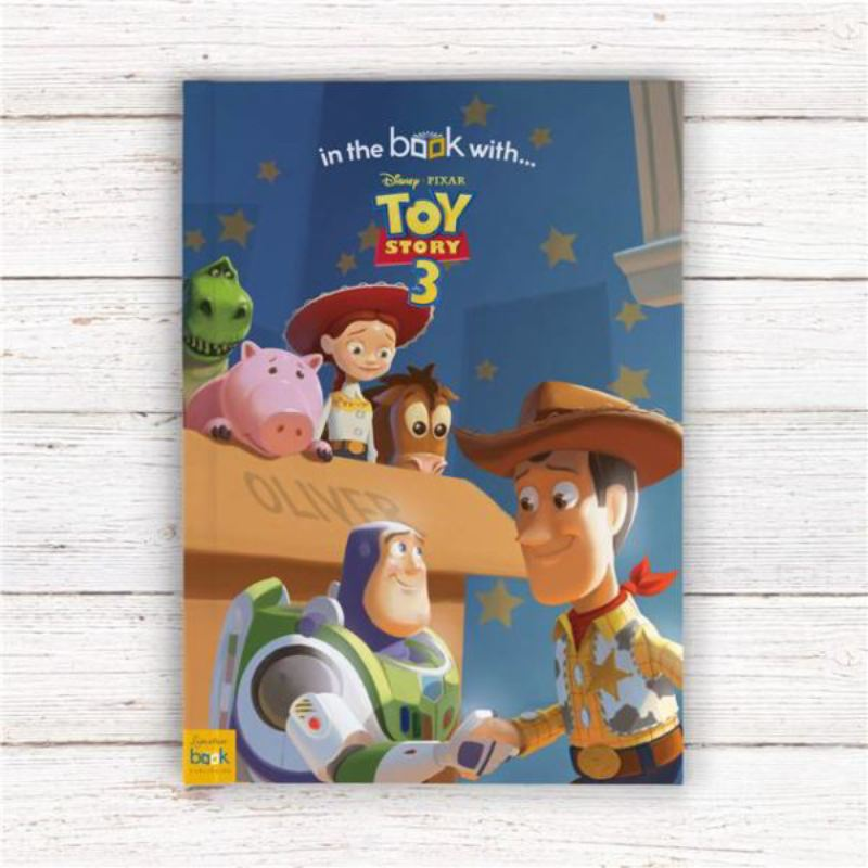 Toy Story 3 Personalised Disney Pixar Story Book product image