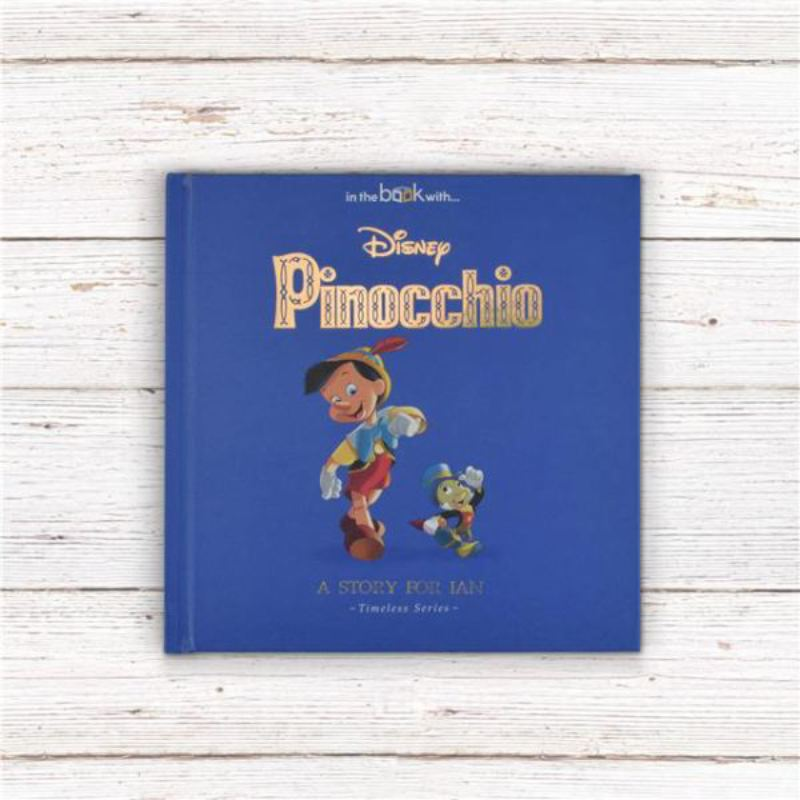Timeless Pinocchio Personalised Story Book product image