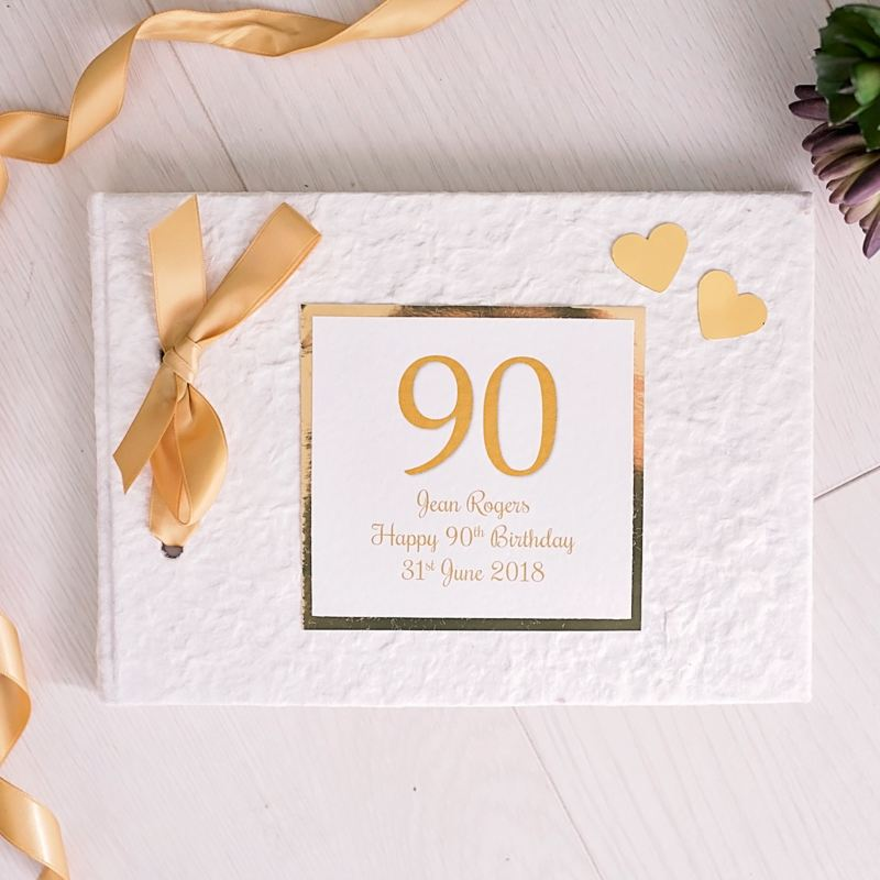Personalised 90th Birthday Photo Album product image