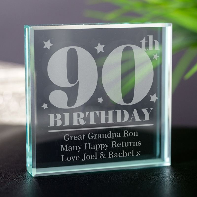 Personalised 90th Birthday Keepsake product image