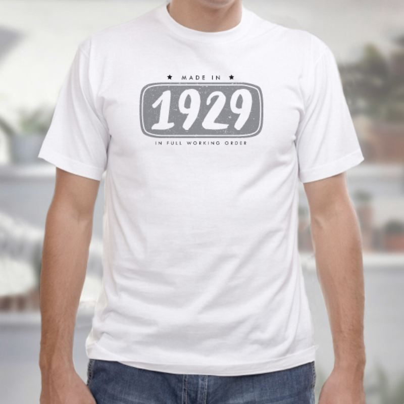 90th Birthday Personalised Mens T-shirt product image
