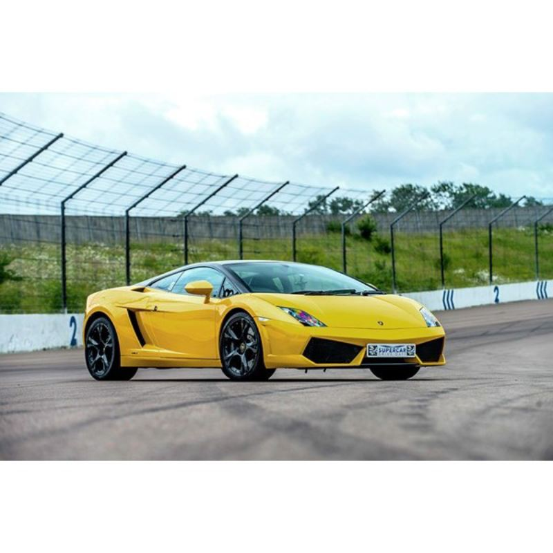 Five Supercar Blast With High Speed Passenger Ride And