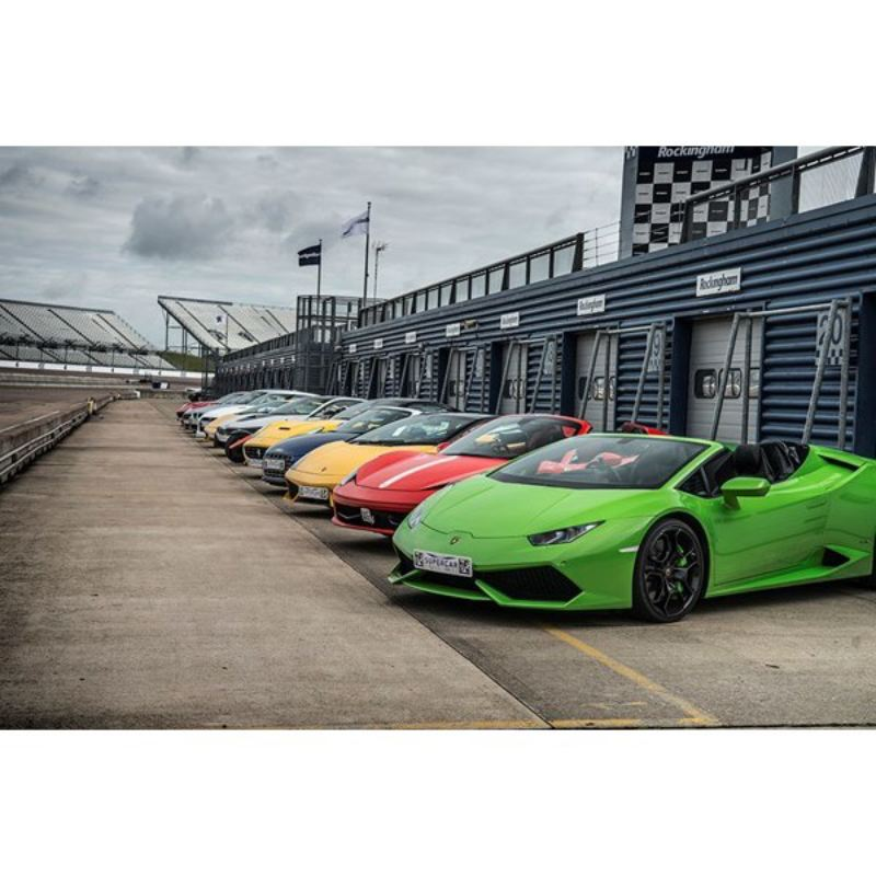 Triple Platinum Supercar Blast with Free High Speed Passenger Ride at Goodwood product image