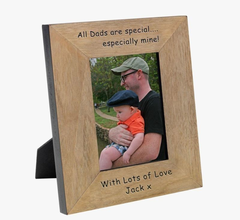 All Dads are special... Wood Photo Frame 6 x 4 product image