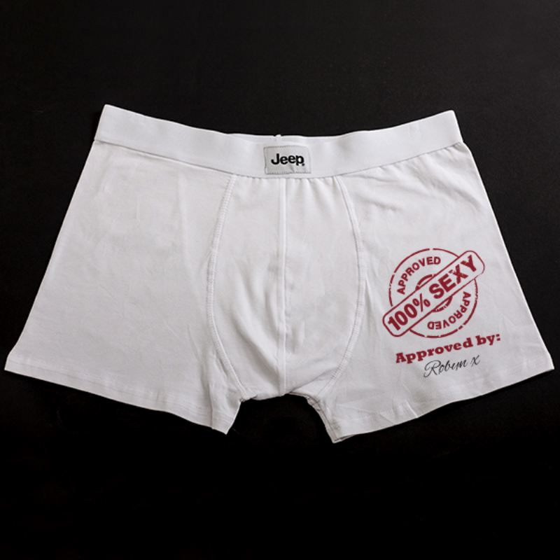 Personalised Approved Package Boxer Shorts product image